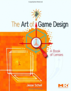 The Art of Game Design (book cover)