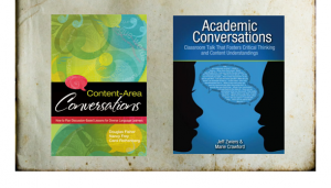 Image: Two textbooks for teaching discussion